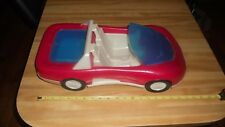 PROCESSED PLASTIC CO LARGE PLASTIC RED TOY CAR NICE CONDITION