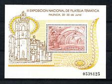 Sellos de España - 1990 filatern 90 Sellos Temáticos nacional de tercer ex Palencia Hoja