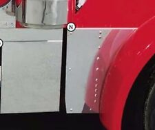 Peterbilt 379 Stainless Extended Hood Extension Panels
