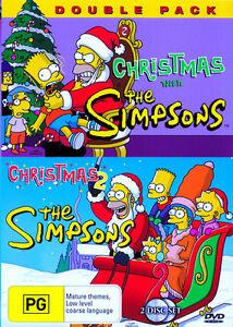 Christmas with The Simpsons / Christmas 2 (DVD) Australia Region 4