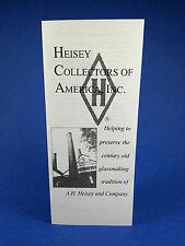 Heisey Collector's of America Membership