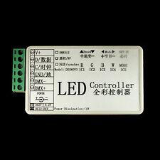 SPI RGB LED Controller with RF Remote for WS2801, LPD6803, TM1803 5V 12V-24V USA