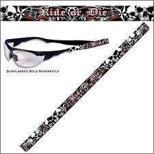 Brillenband Ride Or Die Skull Totenkopf Brille Band Sonnenbrille Kette Kortel