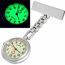 BT Nurse Doctor Brooch Pocket Fob Pendant Quartz Watch