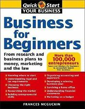 Business For Beginners, US Edition: From Research And Business Plans To Money, M