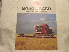 MASSEY-FERGUSON MF 8450 8460 COMBINES sales brochure