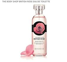 The Body Shop      British Rose     EDT   100 ML Ideal Christmas Gift