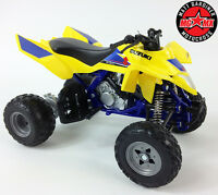 Suzuki Quadracer 450r 1:12 Die-Cast ATV Quad Motocicleta Modelo Juguete New Ray
