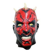 Star Wars Darth Maul Latex Mask Cosplay costume Halloween Party *One-Size*