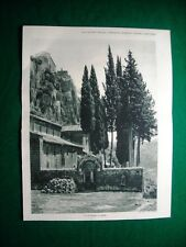 Nel 1931 Roma Castello Sant'Elia + Nepi, acquedotto romano, fosso dei salici