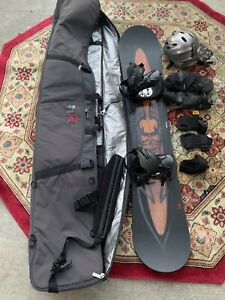 NEW ARBOR DRAFT58 SNOW BOARD PACKAGE