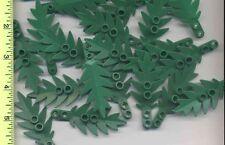 LEGO x 20 Green Plant, Tree Palm Leaf Small 8 x 3 NEW Town Pirates