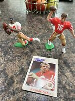 JOE MONTANA & JERRY RICE 49ERS DUO 1991 KENNER STARTING LINEUP Vintage 90s