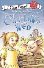 Kids paperback:I Can Read Book 2: Charlotte's Web-Wilbur's Prize-WIlbur Pig safe