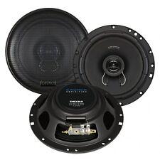 CRUNCH DSX62 FLACHER Lautsprecher 2 WEGE KOAX 16,5 cm DSX-62 100/200 Watt,1 Paar