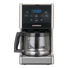 Gastroback Design Coffee Aroma Pro Schwarz/Grau 12 Tassen Kaffeevollautomat
