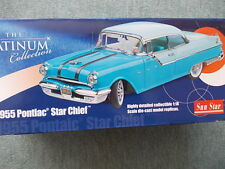 Sun star 1/18 platinum collection-pontiac star Chief 1955-Black/red