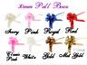 30mm Pull Bows Large Florist Ribbon Weddings Car Gifts Crafts Xmas