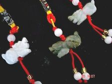 2 CHINESE DRAGON JADE ZODIAC ANIMAL SIGN NEW YEAR BIRTHDAY LUCKY CHARM PARTY