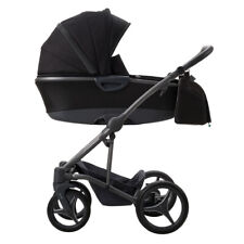 Bebetto Royal Edition Royal Black 3 in 1 Travel System with car seat OFFER