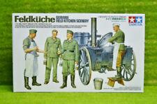 Tamiya WWII  GERMAN FIELD KITCHEN SCENERY SET 1/35 Scale Kit 35247