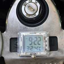 Elektroauto mit Temperatur Motorrad Uhr für Honda für Bike   !
