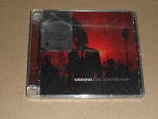 "Katatonia ""Live Consternation"" cd/dvd Sealed [Fall Of Hearts Sanctitude Dethrone"