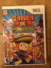 Nintendo Wii Samba De Amigo Complete Party Game