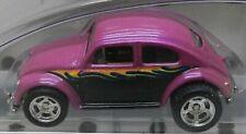 3 BEETLE PINK REAL RIDERS RR 2002 VW VOLKSWAGEN 100% HW HOT WHEELS