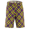 Mardi Grass Golf Shorts by Royal and Awesome Funky & Loud Waist Size 30 - 44 NEW