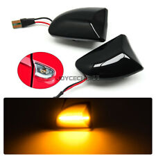2014 Smart Fortwo W451 Coupe luz intermitente lateral l/ámpara de se/ñal repetidor luz marcador l/ámpara 2 piezas JINGLINGKJ Luces de marcador lateral para 2007