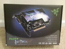 Razer Barracuda AC-1 Gaming Audio Card, 7.1 Channels, PCI, S/PDIF, HD-DAI