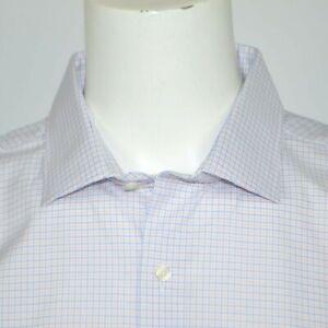 NWT TOMMY HILFIGER Regular Fit Flex Stretch Cotton Dress Shirt 18.5 34/35 XXL
