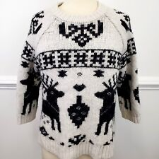 224f2ea00 Ivory Wool Blend Fair Isle