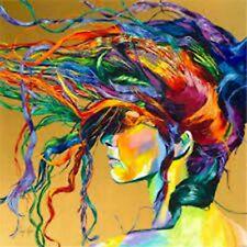 5D Diamond Painting Kit Full Drill-Arts N Crafts Kits, Cross Stitch-Painted Hair