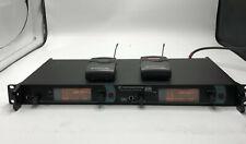 Sennheiser Sr 2050 Stereo Iem Transmitter w/ 2 Ek 2000 Receivers Bw 626-698 Mhz