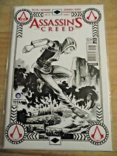 Assassin's Creed #10 Cover C (2016) Ubisoft Titan B&W cover VF-