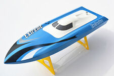 M455 Millet RC Electric Fiberglass Boat Hull Only For Skillful Player KIT Blue