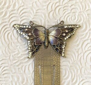 Vintage butterfly book mark