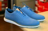 Cole Haan ØriginalGrand Wingtip Oxford Shoes size 8.5 $140 C29433 Pacific Coast