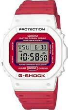 G-Shock DW5600TB Watch - White / Red - New