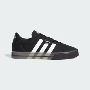 Adidas Originals Daily 3.0 Black White Casual Skate Boarding Shoes FW7050 New