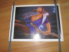 Stevie Ray Vaughan Mourning is over poster 24x36 numbered signed a