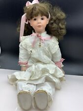 Vera Scholz Repro Künstlerpuppe Porzellan Puppe 47 cm. Top Zustand
