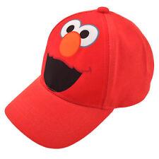 Sesame Street Elmo Character Cotton Baseball Cap, Toddler Boys, Age 2-4