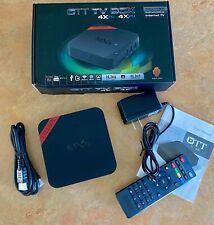 MXQ OTT Android 4.4 TV Box Internet TV 4x CPU 4x GPU H.264 H.265 1080P Full HD
