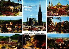 Wien und seine Umgebung , Ansichtskarte , gelaufen