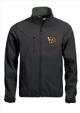 Calidad de Abrigo Chaqueta Softshell jcb Tamaños Bordado Negro S-5XL