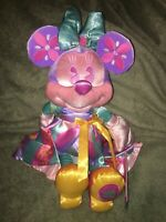 Disney Minnie Mouse Main Attraction April 2020 It's A Small World Plush