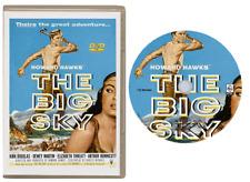 THE BIG SKY - (KIRK DOUGLAS) WESTERN - ALL REGION DVD